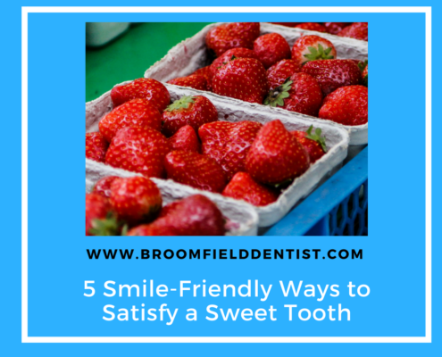 satisfy a sweet tooth graphic