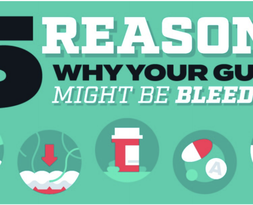 5 reasons why gums are bleeding graphic